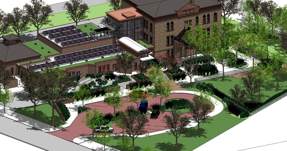 """<img src="""" studioINSITE_Maplewood_School_Perspective_Rendering """"alt=""""  Preschool, early childhood learning, playground, elementary school, landscape architecture  """" title=""""Mapleton Early Childhood Center""""/>"""
