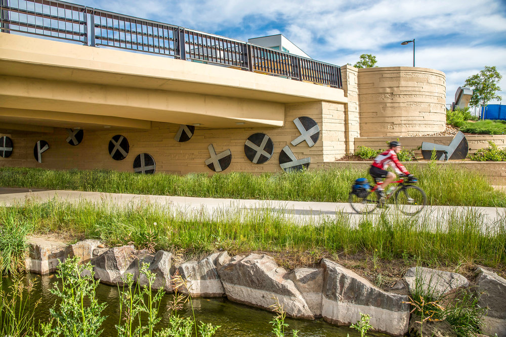 """<img src=""""studioINSITE_Boulder_Junction_Place_Greenway""""alt=""""Boulder, Junction Place, Bike Trails, Transite Depot, Bridge, Streetscape, Greenway, Landscape Art, Art, Public Outreach, Landscape Architecture, Urban Designtitle=""""Boulder Junction Place""""/>"""