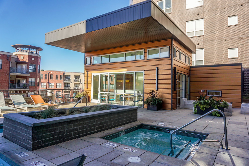 "<img src="" studioINSITE_The_Douglass_Grill_Station "" alt=""Urban Living, Multifamily Courtyard, Amenity Deck, Fire Pit, Grill Area, Shade Structure, Fireplace, Landscape Architecture, Luxury Living, the Douglas, Denver, CO, Colorado Courtyards, Amenity Spaces, Great Courtyard Designs  "" title=""The Douglas  ""/>"