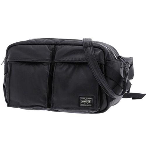PORTER   TANKER LEATHER KURA CHIKA ORIGINAL WAIST BAG — Porter-Yoshida   Co  B to B selection b2ed43e43f4cc