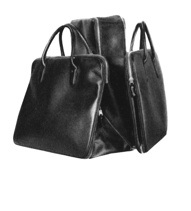 Yoshida developed the Elegant Bag with an adjustable gusset width feature  by fastening and unfastening of ac40ccf380231