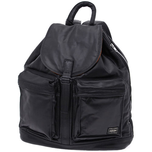 Porter Yoshida Tanker Leather Rucksack