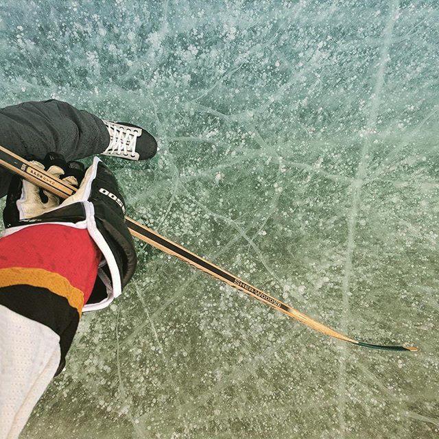 Chasing winter. . . . #myjasper #explorealberta #explorecanada #jaspernationalpark #canonphotography #skating #hockey #wanderlustalberta
