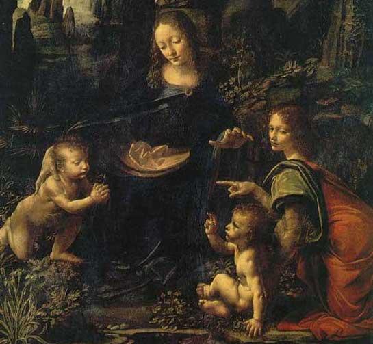Virgin of the Rocks - Leonardo da Vinci