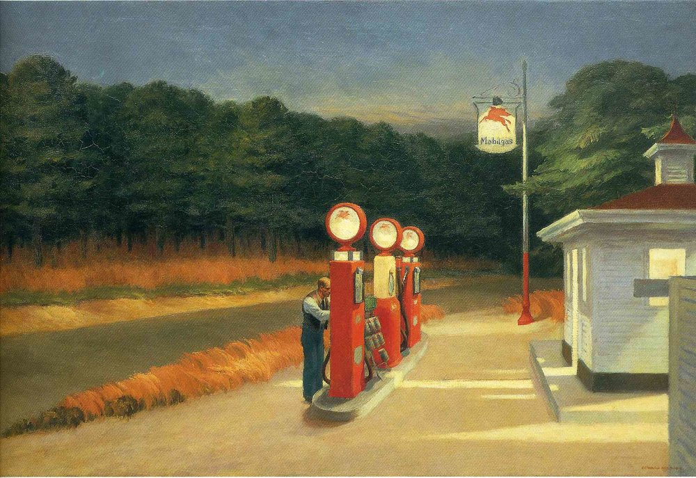 Edward Hopper, Gas, 1940 -