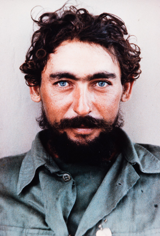 Castro rebel with blue eyes, Matanzas, Cuba, 1959