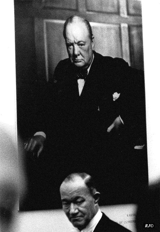 Churchill portrait, Metropolitan Museum, 1958