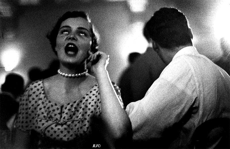 Jazz fan, Lower East Side, 1954