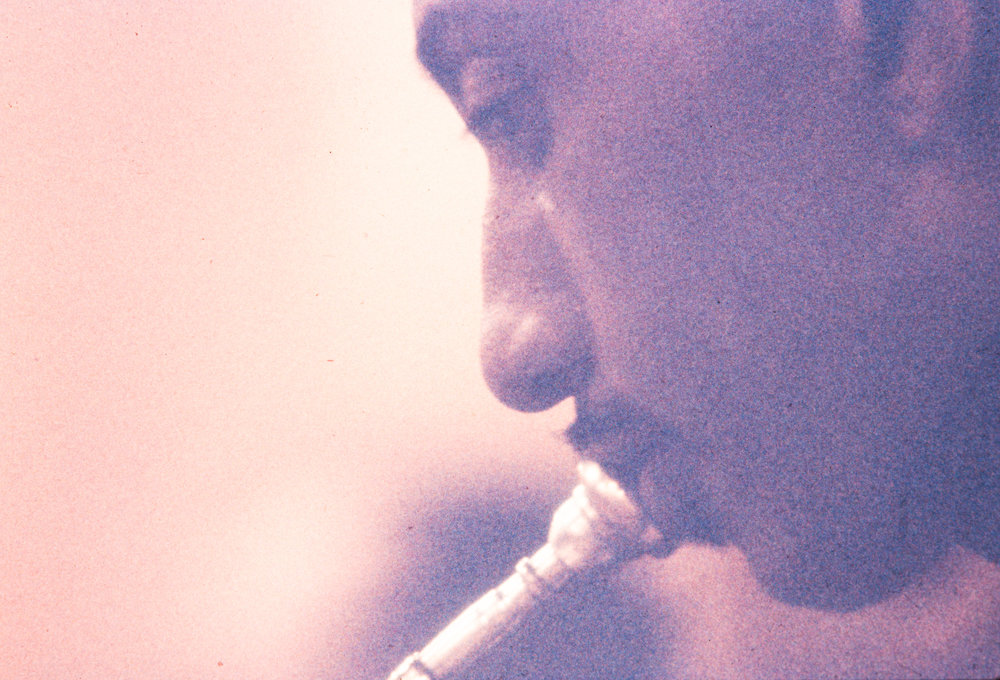 Unknown at Count Basie rehearsal, NYC, 1954