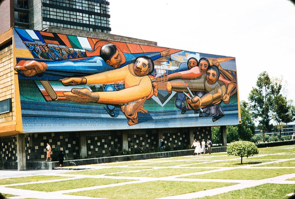 Mural, Mexico, 1957
