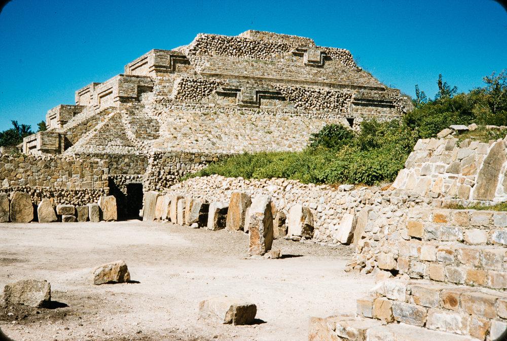 Ruins, Mexico, 1957