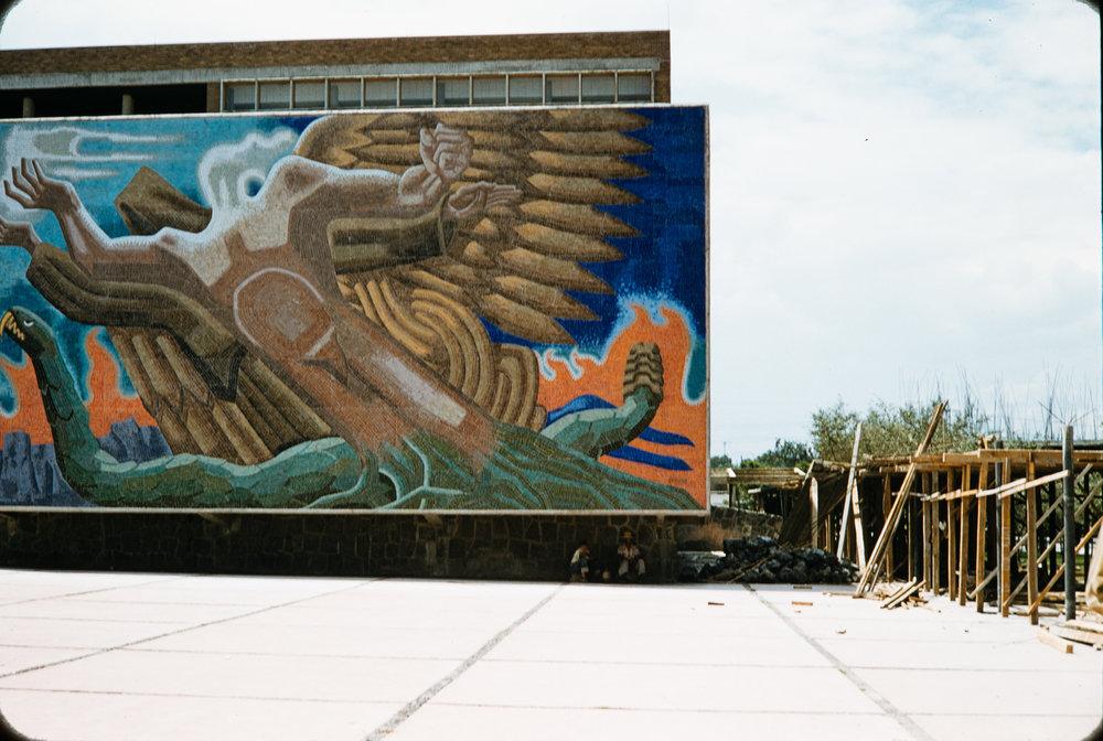 Mural #5, Mexico, 1957