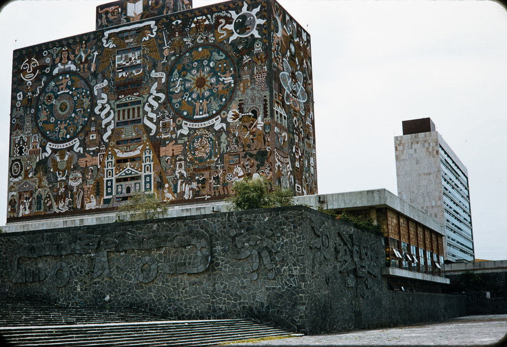 Mural #6, Mexico, 1957