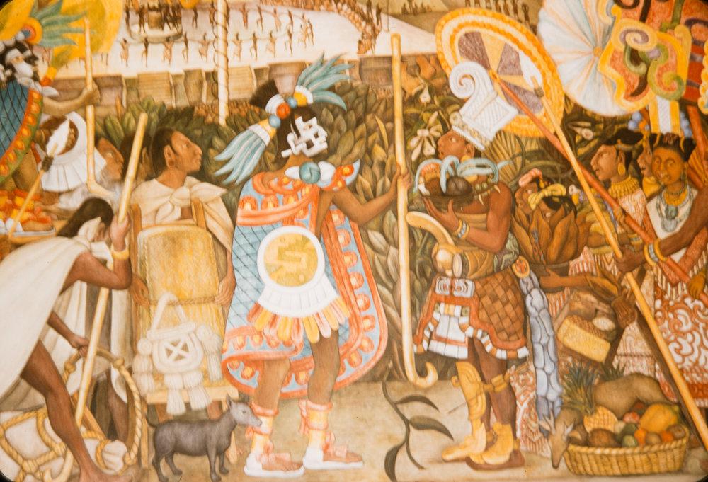 Mural #12, Mexico, 1957