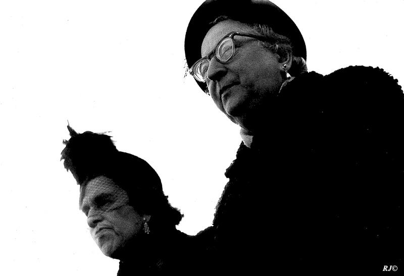 Two women, Central Park, Manhattan, 1956