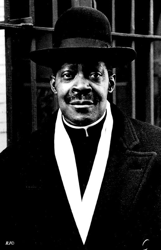 Preacher, Harlem, 1952