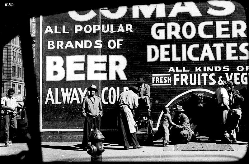 Shoeshine, Harlem, 1953