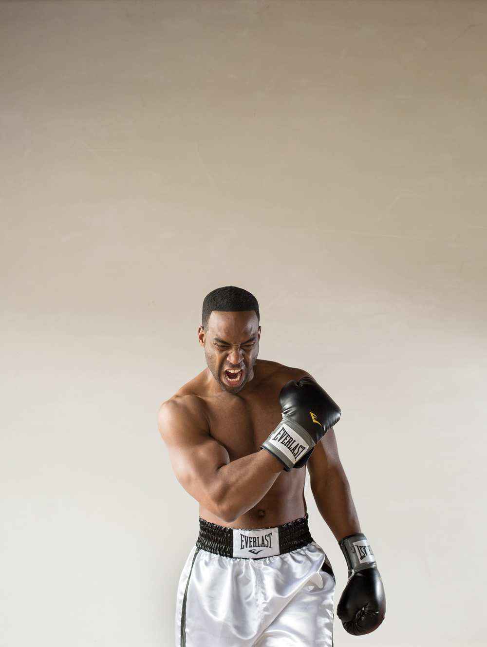 Soloman Howard plays  Muhammad Ali in the opera Approaching Ali. For INDY Week.