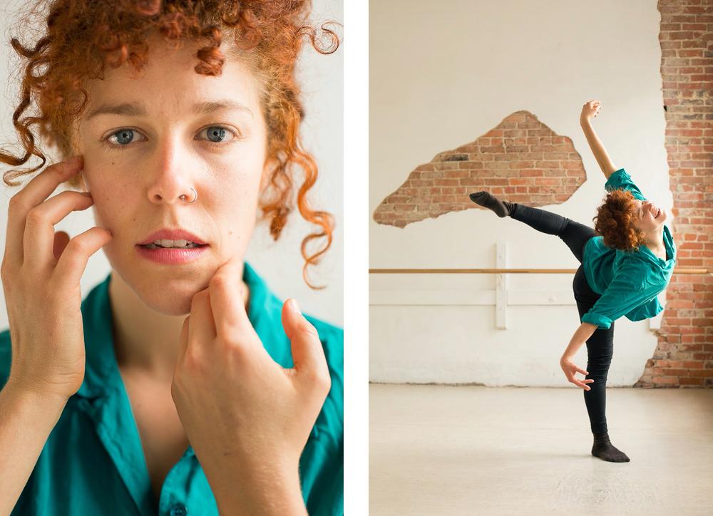 Indies Arts award-winning dancer Leah Wilks in Durham, for INDY Week.