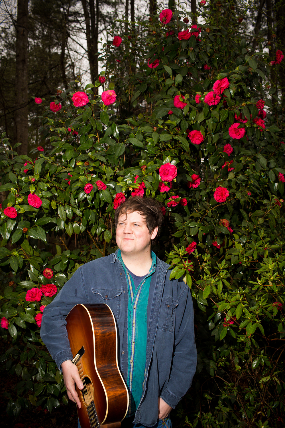 Folk musician Jake Xerxes Fussell in Durham, N.C. for INDY Week.