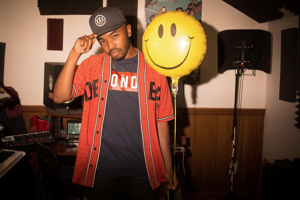 Rapper King Mez for INDY Week.