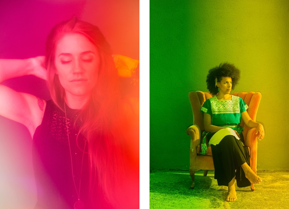 Musicians Katelyn Read and Kamara Thomas for Mercury Studio.