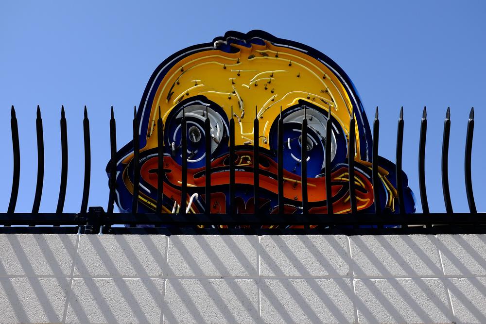 Neon sign graveyard. Las Vegas.