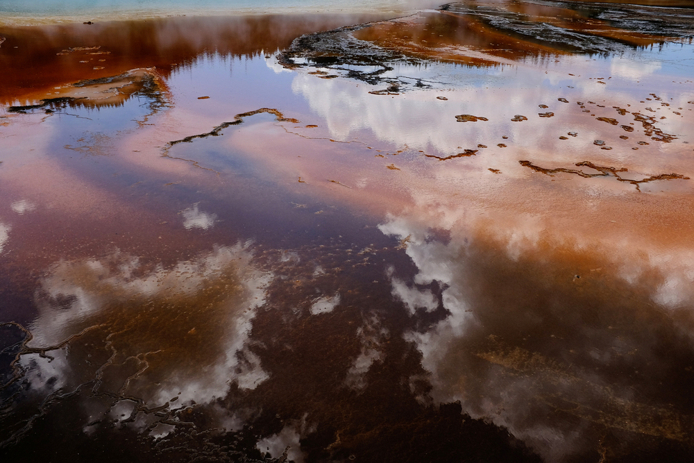 Primordial soup, Midway Geyser Basin, Yellowstone.