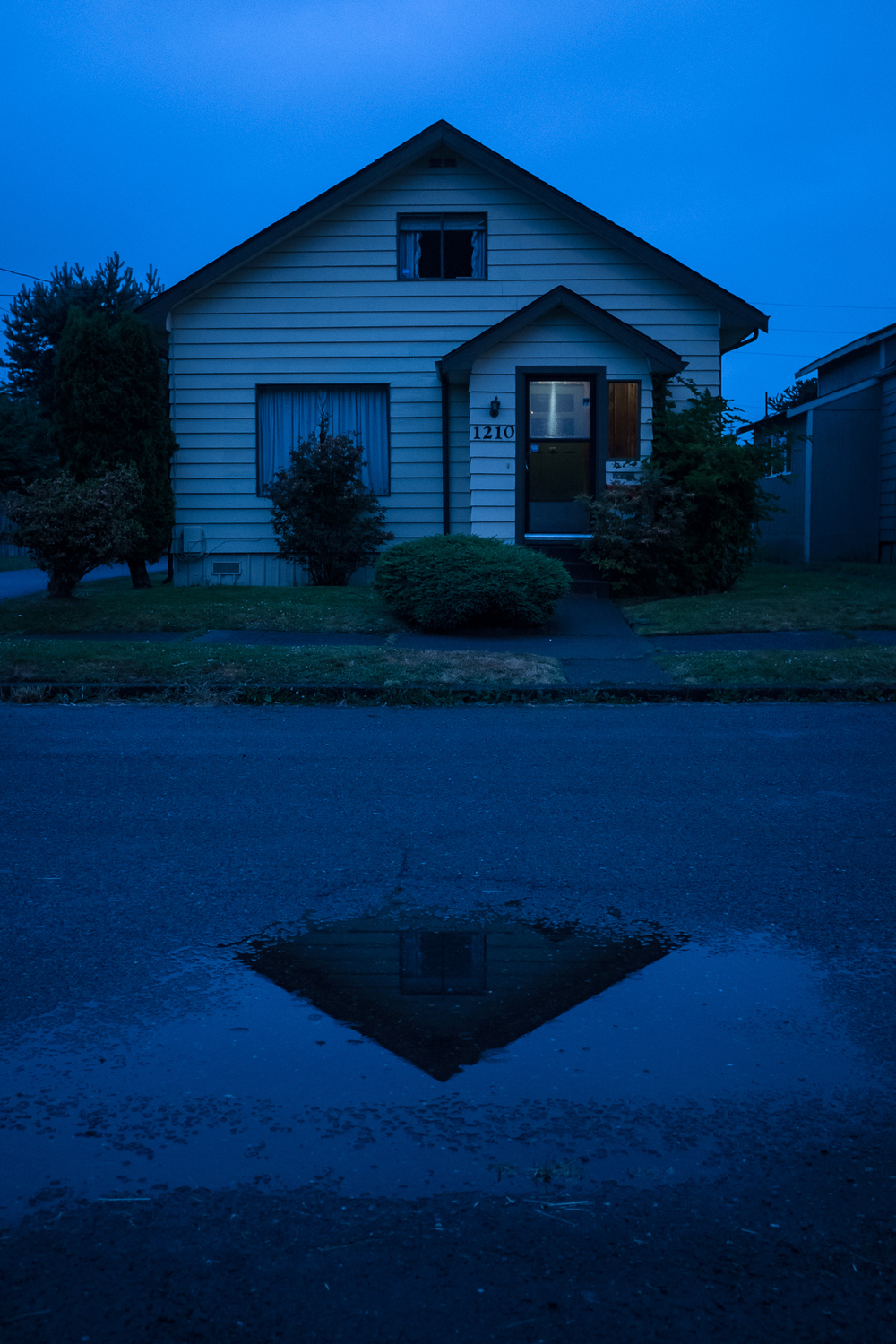 Kurt Cobain's childhood home, Aberdeen, Washington.