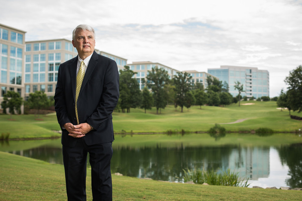 Ned Curran, CEO of Bissell, developer of Ballantyne, for The Wall Street Journal.