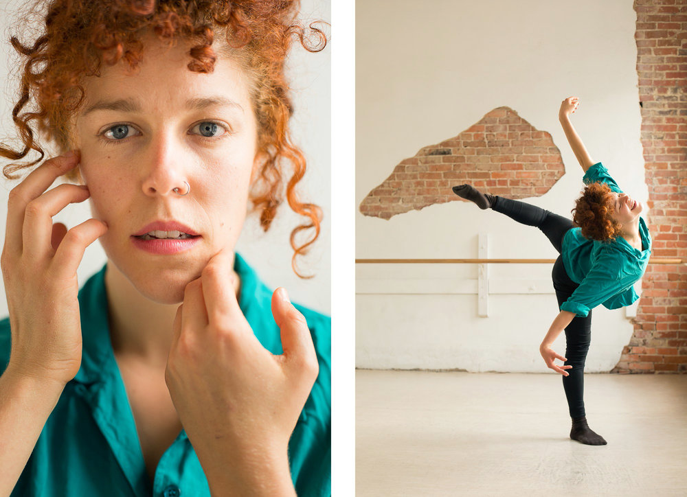 Indies Arts award-winning dancer Leah Wilks in Durham, for INDY Week.