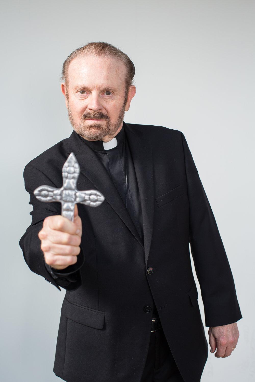 Portrait of Exorcist Bob Larson