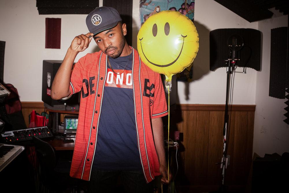 Portrait of Rapper King Mez Raleigh