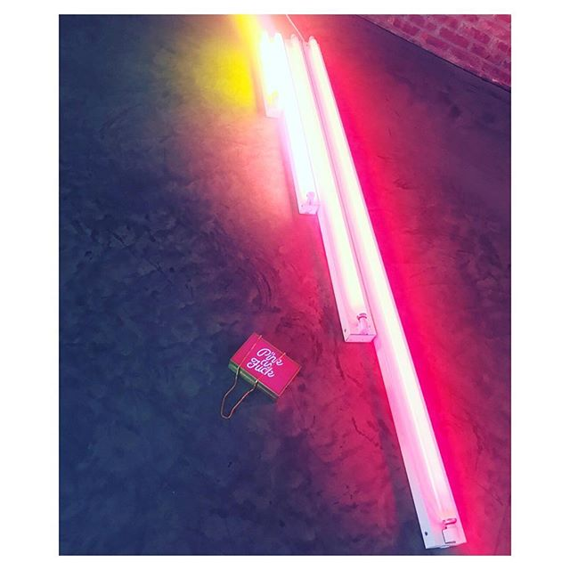 #DanFlavin 💕 PINk As Fuck 💕 #LightUp clutch 💕