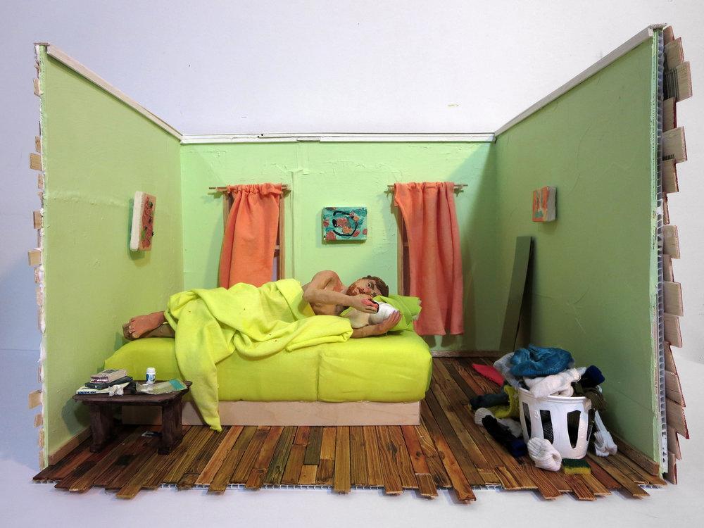 Sculptural Model: Bed