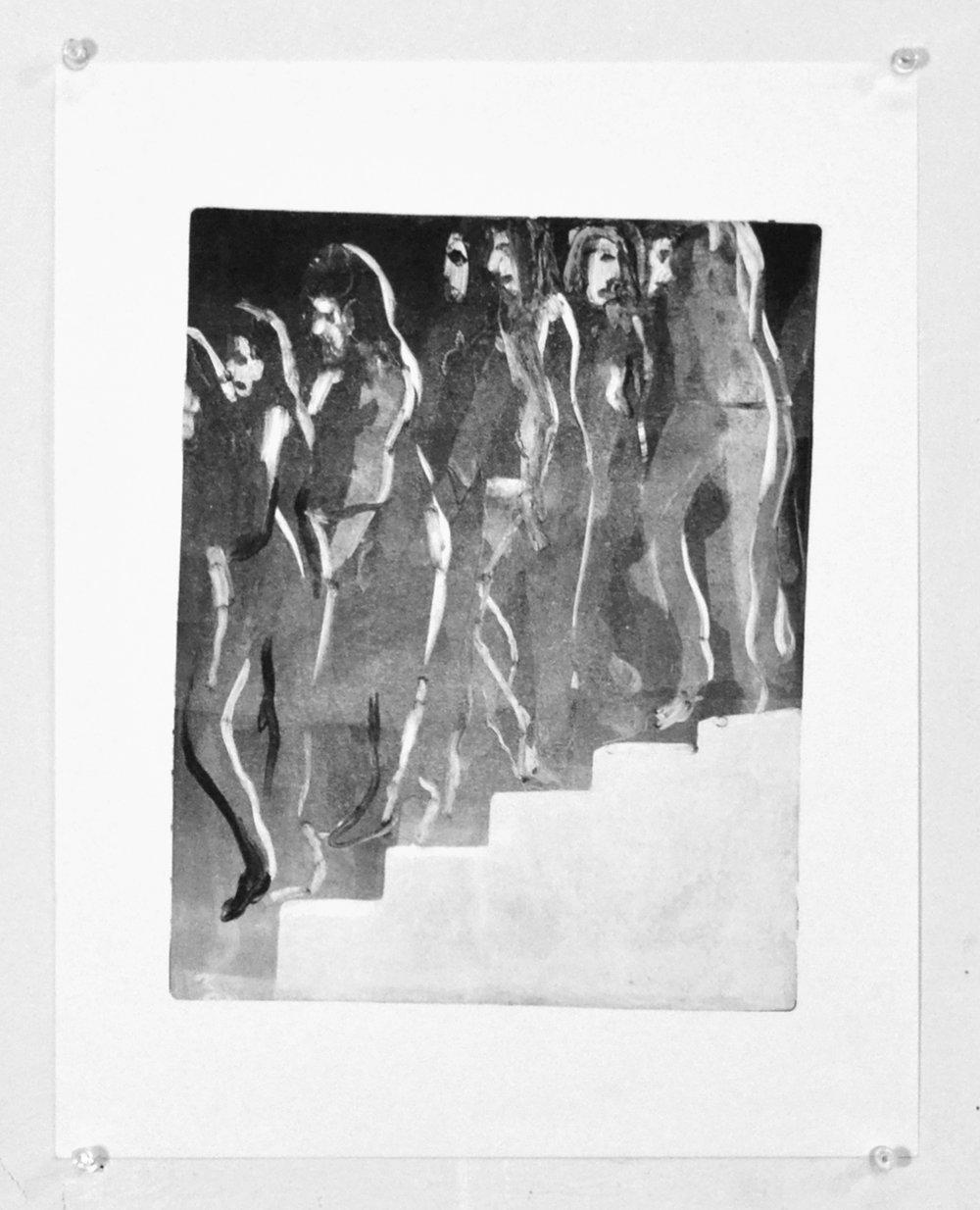 Woman Descending a Staircase