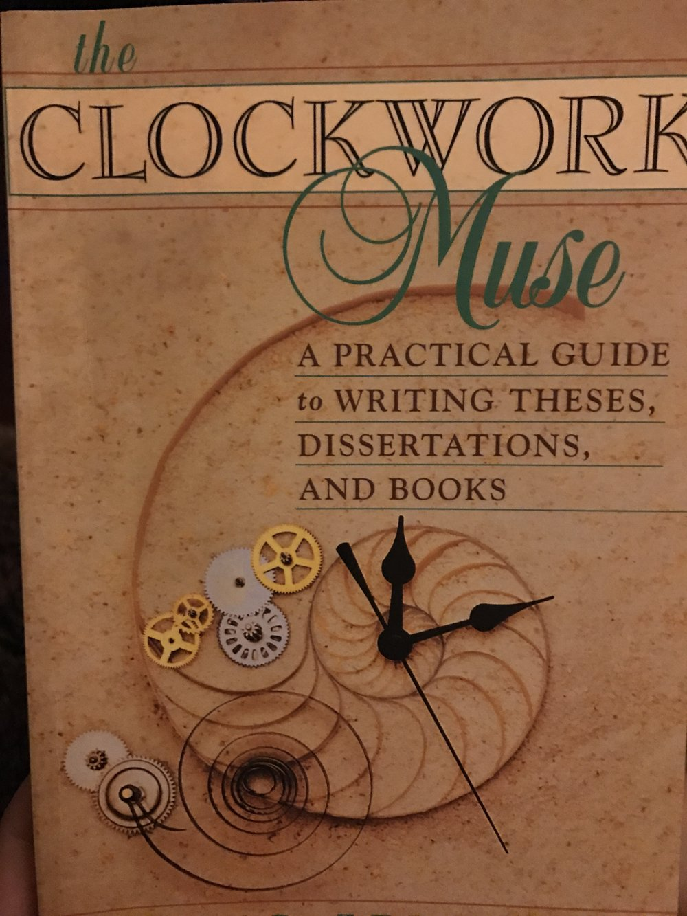 The Clockwork Muse by Eviatar Zerubavel