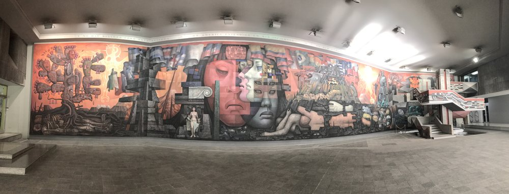 """""""Presencia del America Latina""""- a panoramic view"""