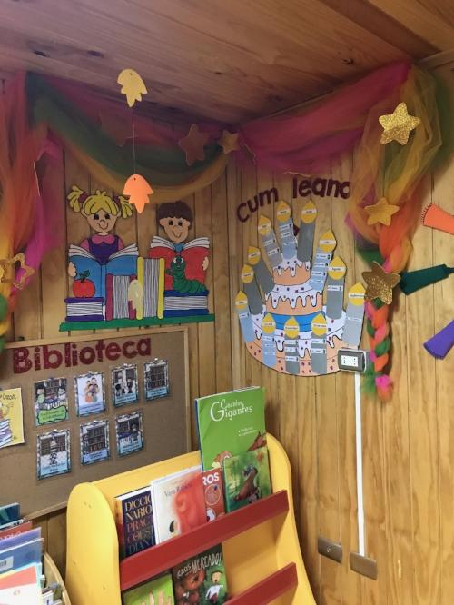 Kindergarten classroom in Epu Klei