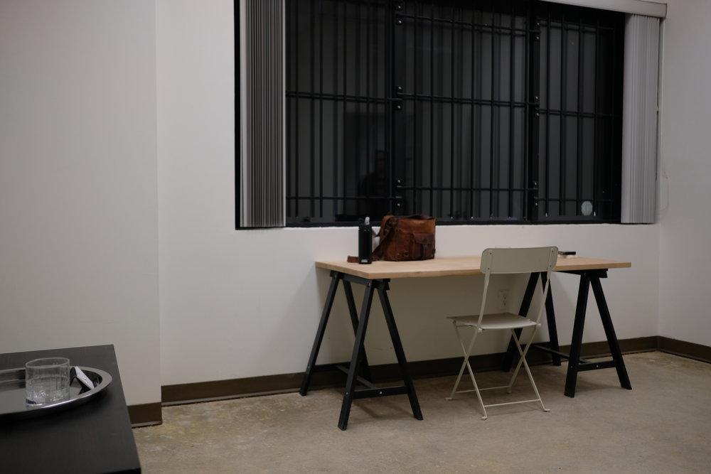 Brian's Desk, Stage 1