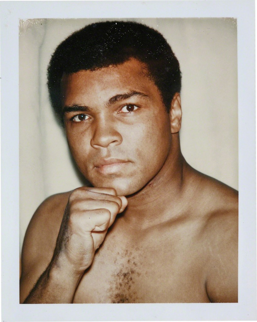Andy Warhol Polaroid Portraits at Kasmin Gallery in New York