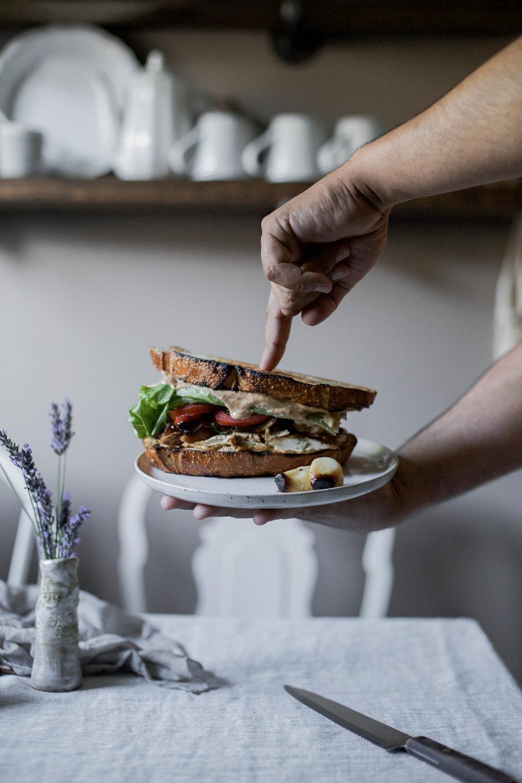 butter bbq chicken & chipotle mayo sourdough sandwich-31.jpg
