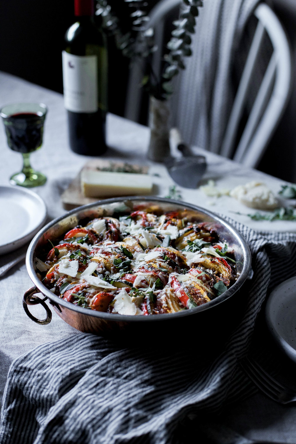 sun dried tomato basil pesto ratatouille {provencal tian} (22 of 1).jpg