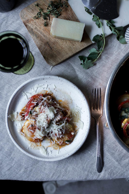sun dried tomato basil pesto ratatouille {provencal tian} (36 of 1).jpg