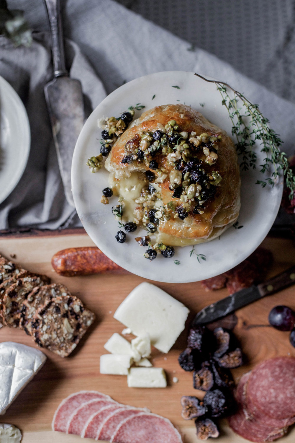 honey puff wrapped baked brie with dried blueberries, walnuts & pistachios (102 of 1).jpg