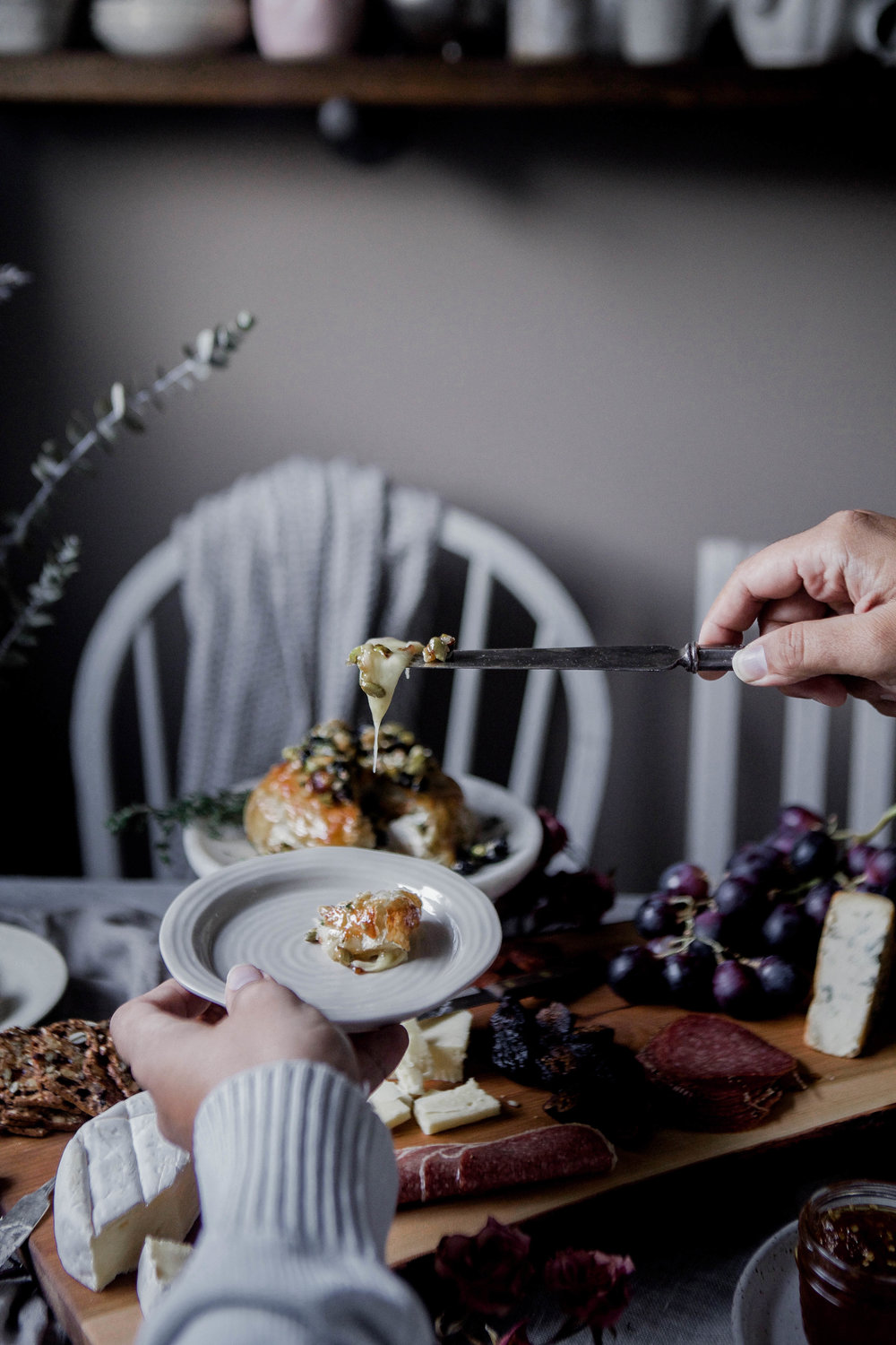 honey puff wrapped baked brie with dried blueberries, walnuts & pistachios (71 of 1).jpg