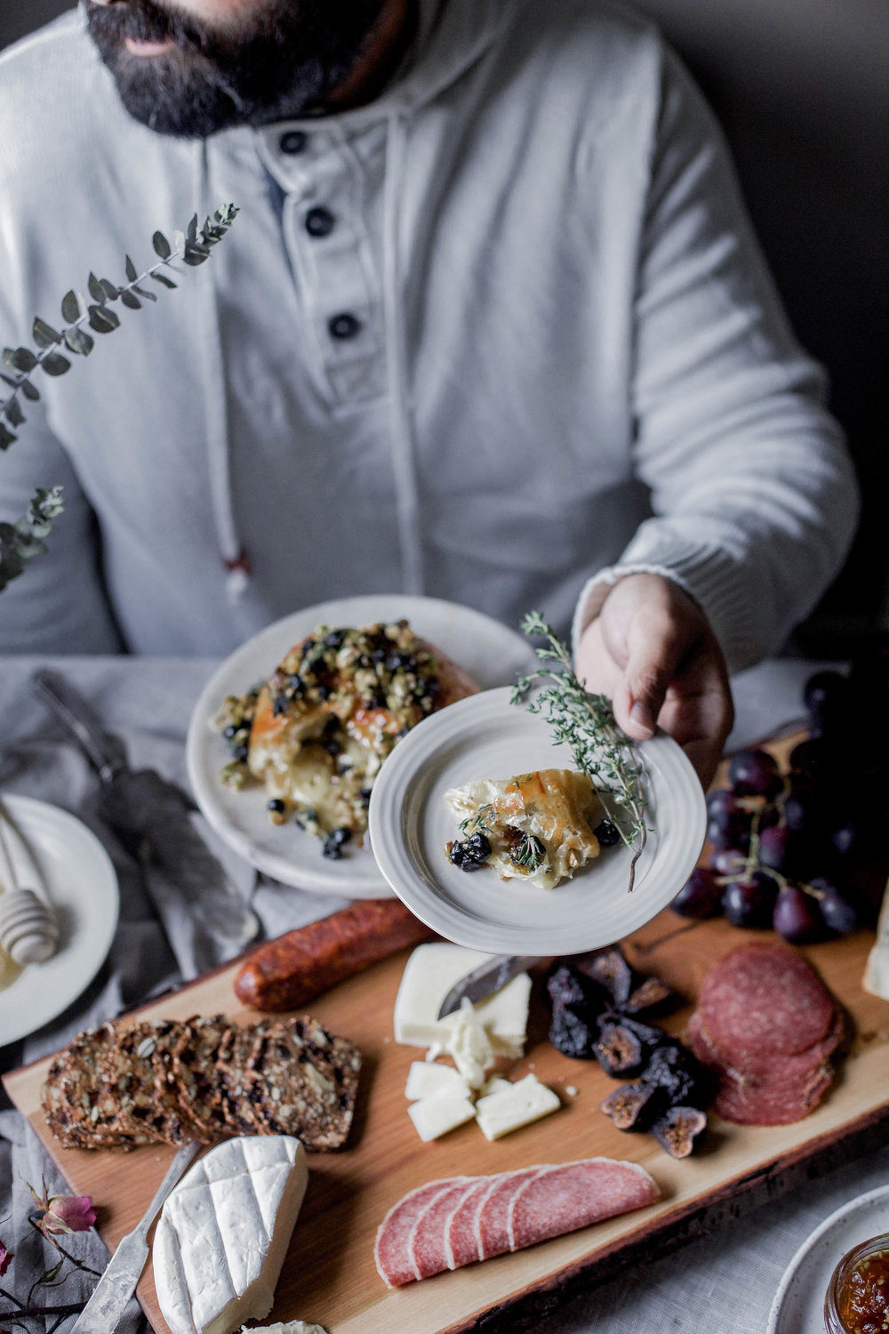 honey puff wrapped baked brie with dried blueberries, walnuts & pistachios (85 of 1).jpg