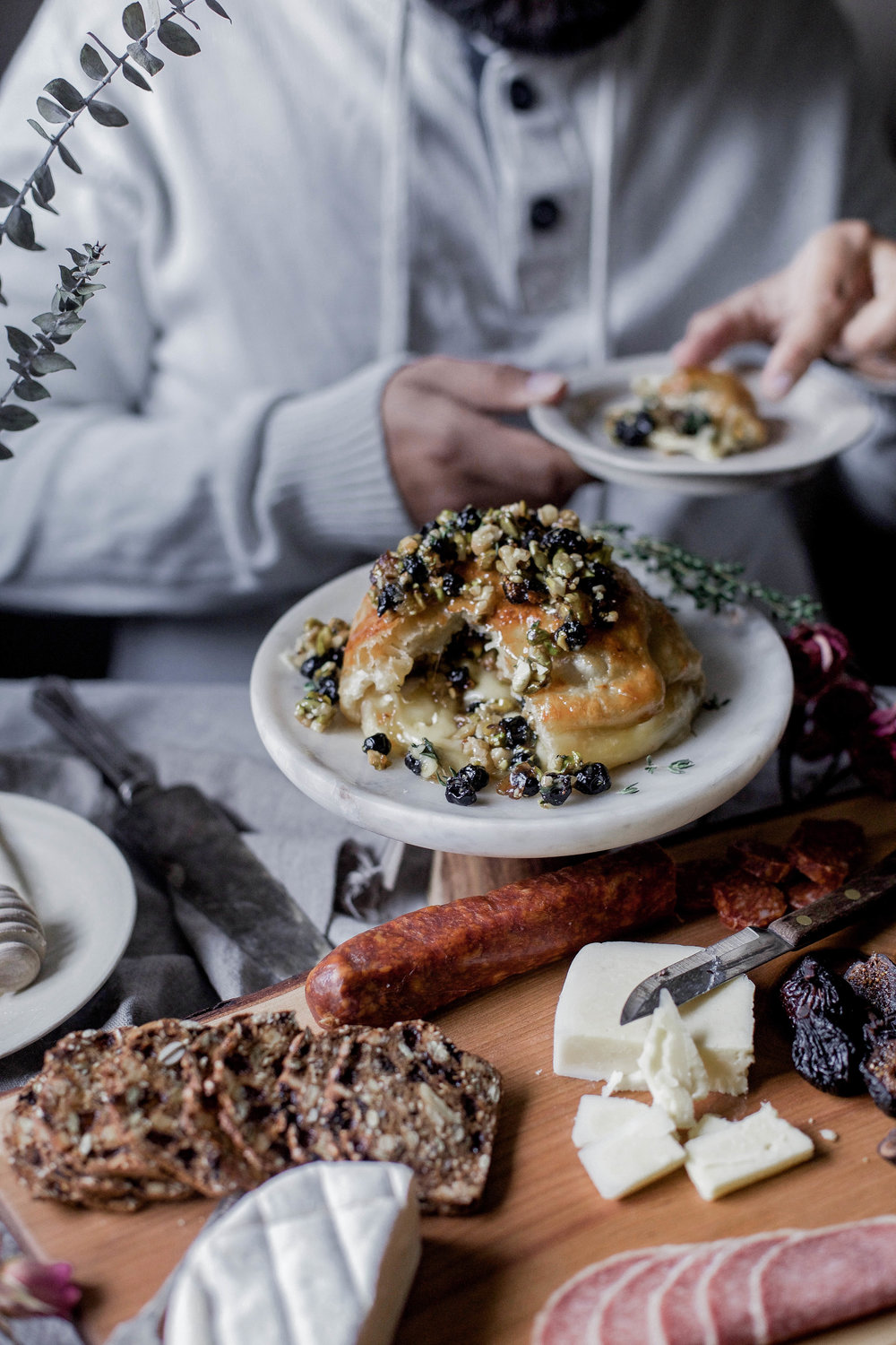 honey puff wrapped baked brie with dried blueberries, walnuts & pistachios (89 of 1).jpg