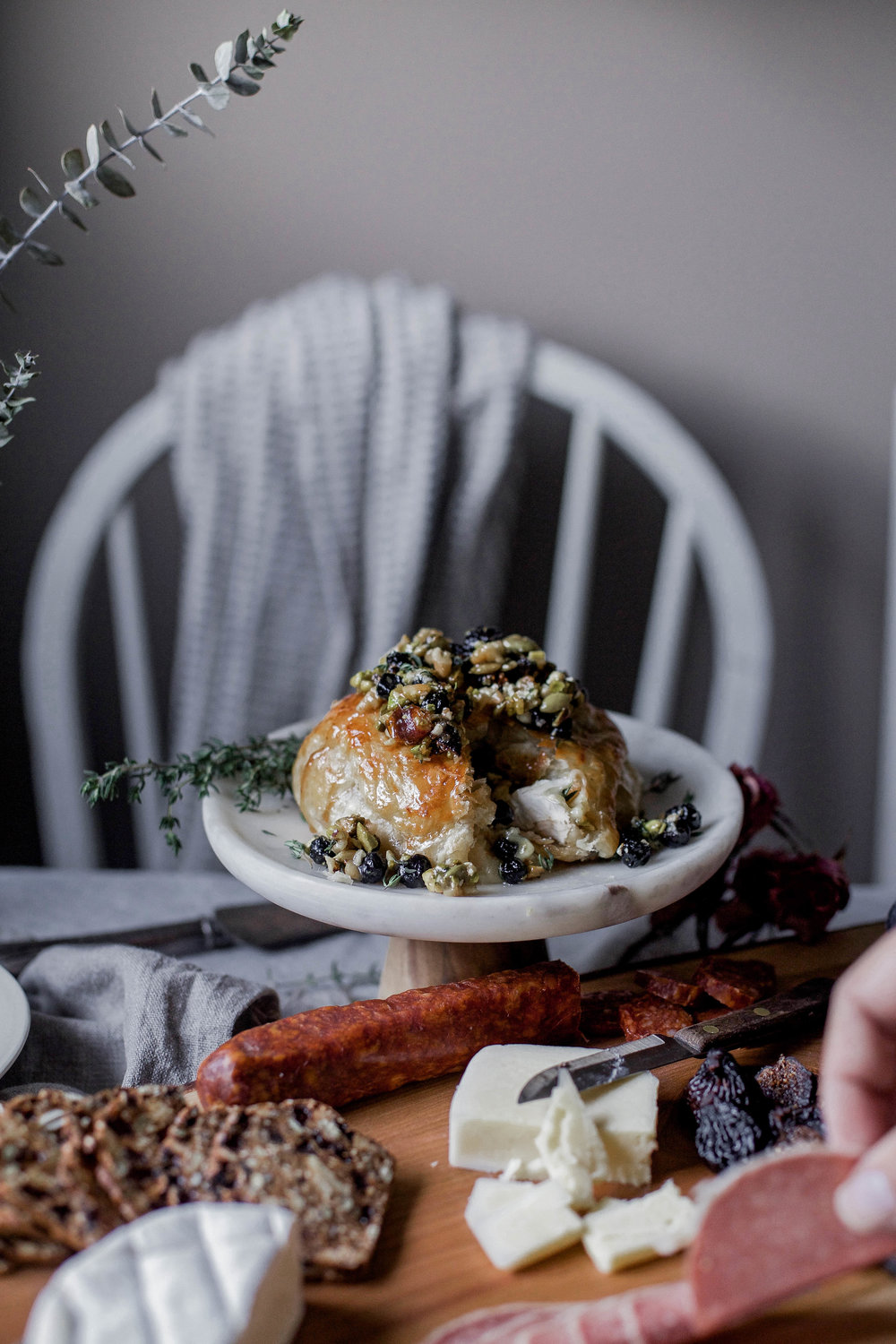 honey puff wrapped baked brie with dried blueberries, walnuts & pistachios (77 of 1).jpg