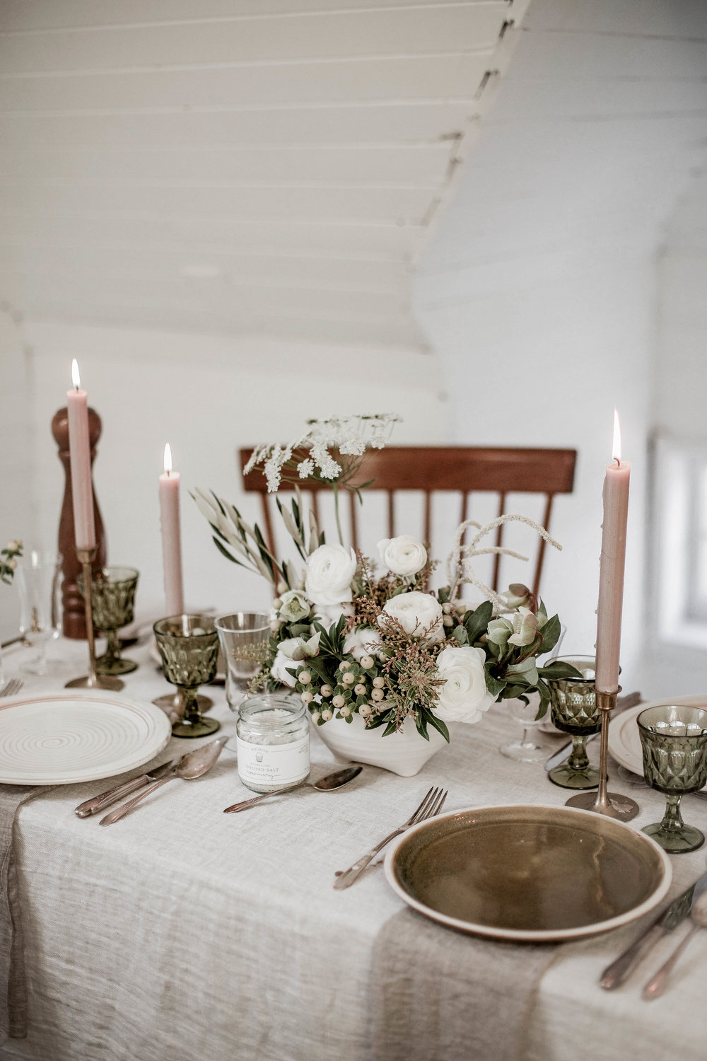5 holiday table setting tips + a collab with Rook & Rose & Nourish ...